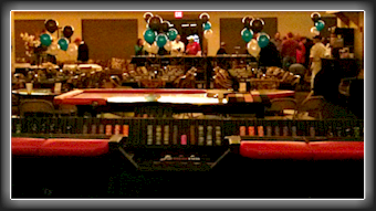 Craps Table 14' and Roulette Table 7' Willowbend Country Club