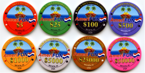 Gaming Cheques Poker Chips Amerifun