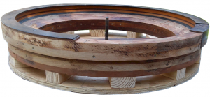 Antique Roulette Bottom Height Expansion
