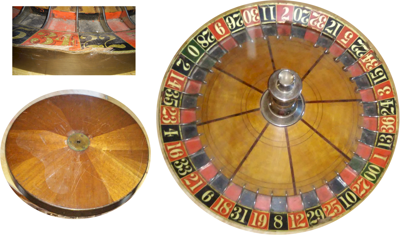 dirty roulette wheel