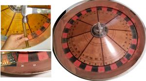 Antique Roulette Wheel Repair Brass Ring Amerifun Wichita KS