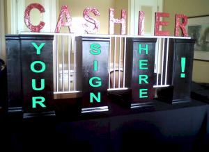 Cashier Cage Prop Amerifun
