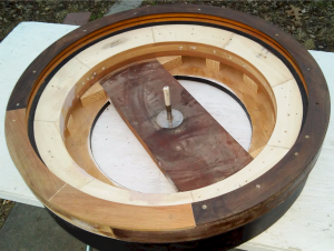 "roulette wheel 32"" before putty"