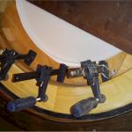 Veneer Application Roulette Wheel Amerifun