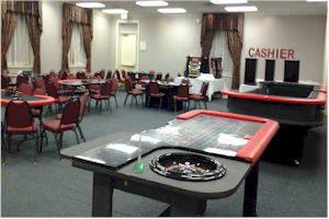 Casino night party game rentals Amerifun Wichita KS