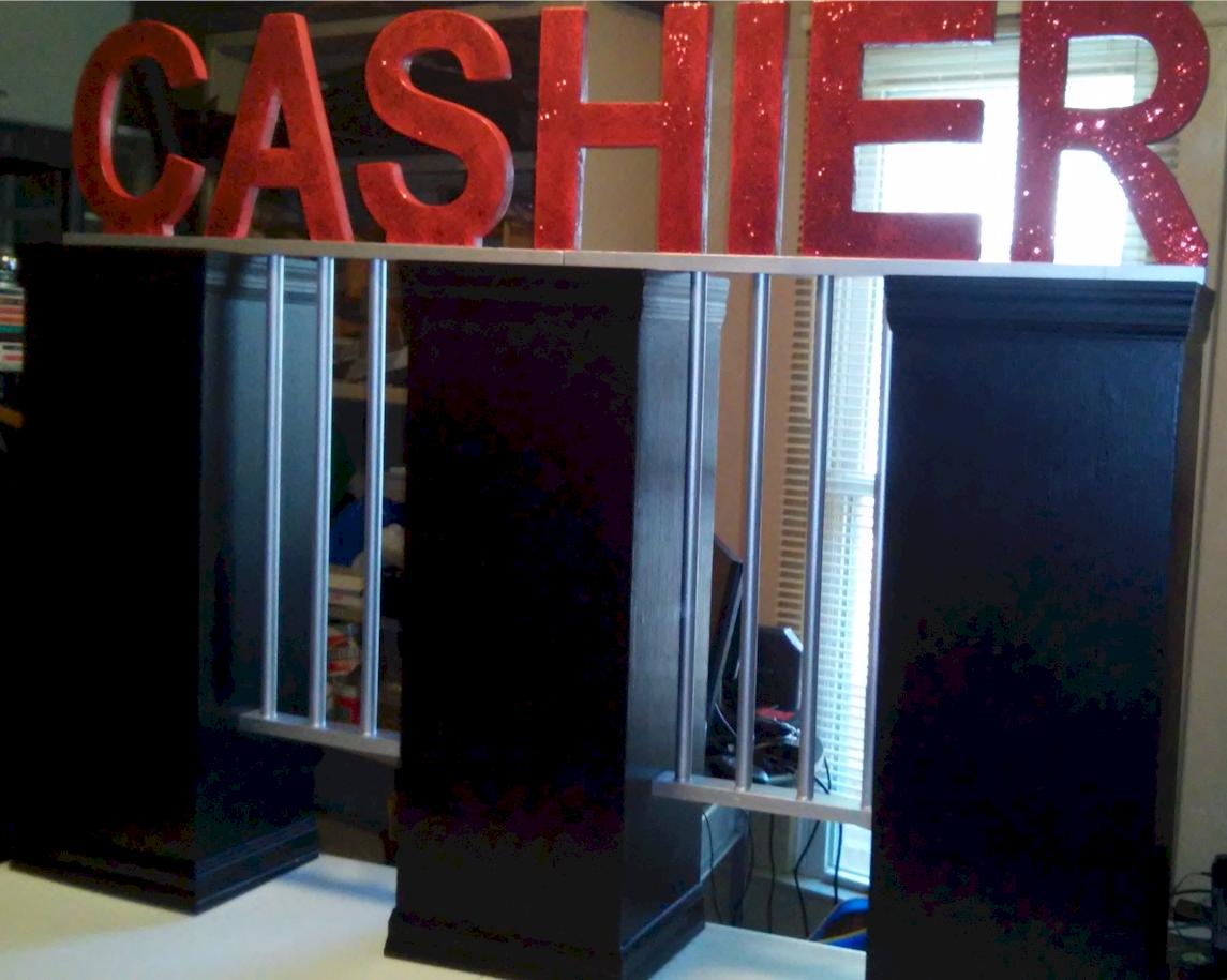 Cashier Cage Prop Corporate Amp Business Entertainment
